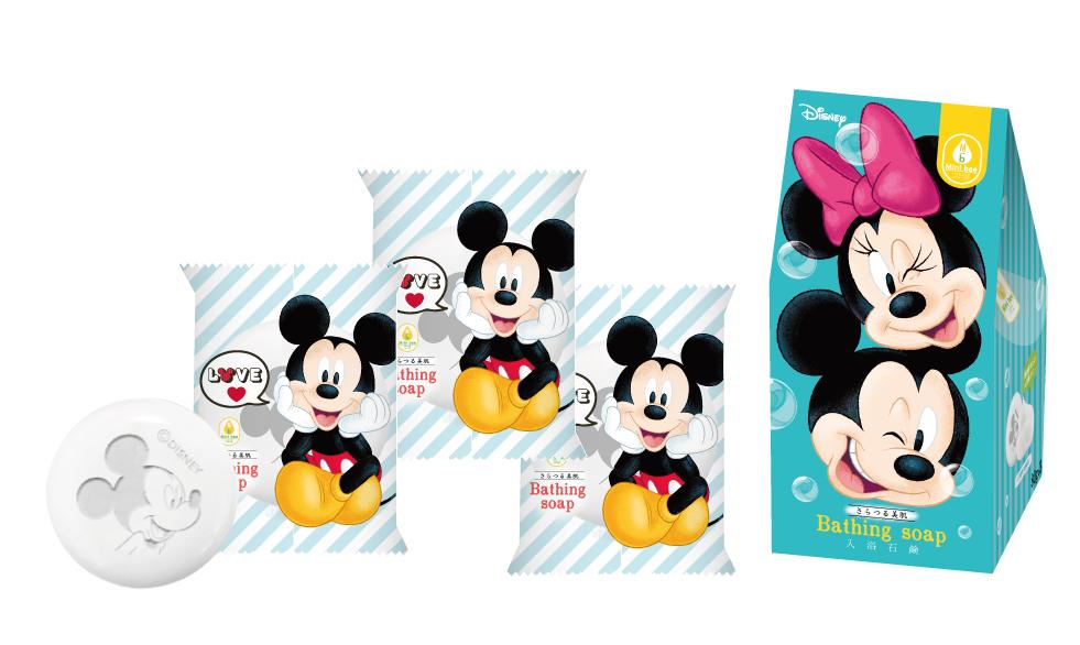 MB-03迪士尼卡通香皂3入組共4款(可愛米奇/花漾米妮/跳跳虎/小熊維尼)