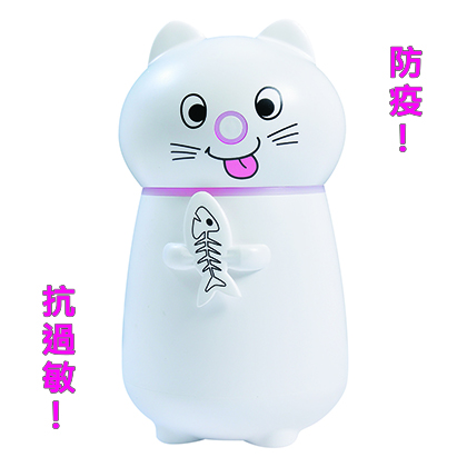 貓咪噴霧加濕器+情境燈✔防疫✔次氯酸水✔抗過敏✔薰香紓壓✔保持空調房的濕潤