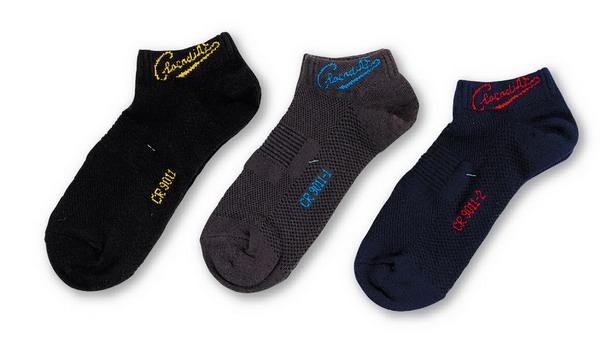 N5-9011鱷魚抗菌特殊網狀船襪