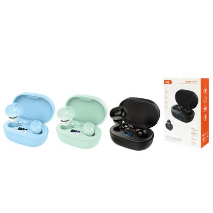 M9 藍牙耳機TWS無線運動耳機
